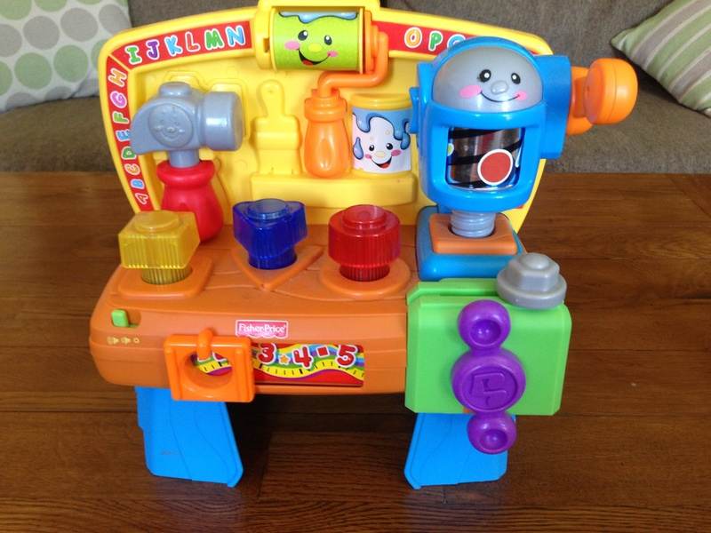 Product review fisher price laugh and learn tool bench image 1 Fisher price tool bench