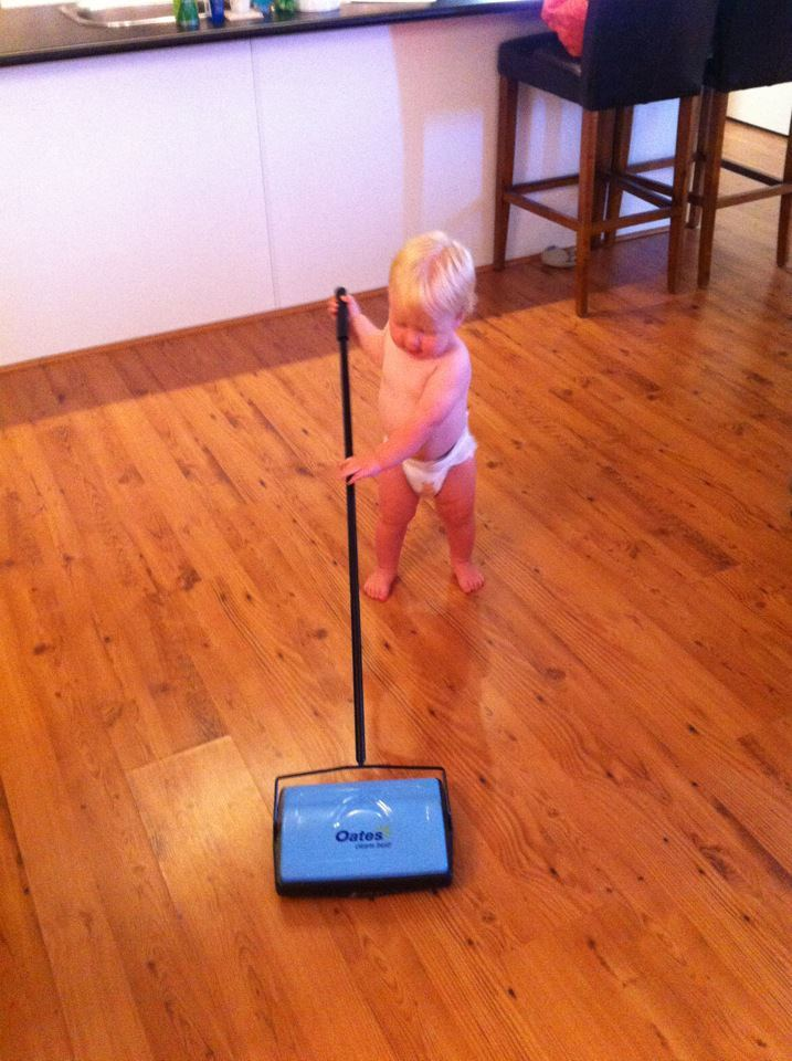 Suitable chores for a 3 year old