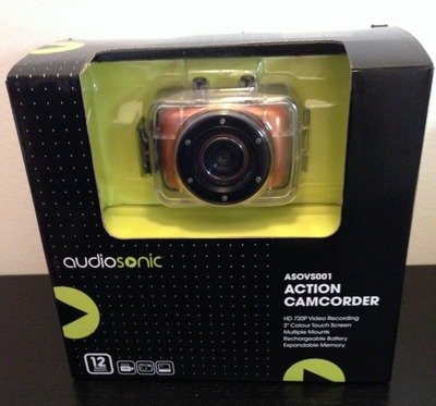 Audiosonic Action Camcorder, Camera, Action camera, product review