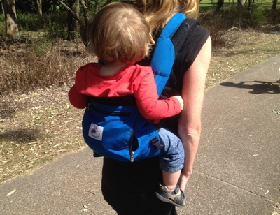 ERgo carrier on back, Ergo Baby review, baby back carrier, best carriers for babies, infant sling review