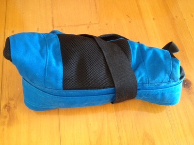 Ergo rolled up, small infant backpack, light infant backpack