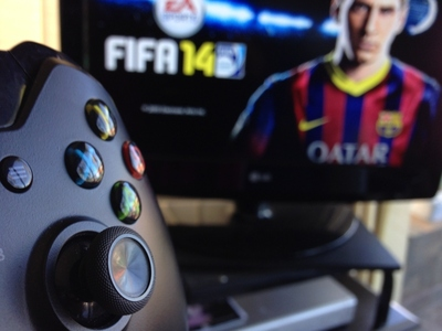 FIFA 14, Soccer, Video Game, XBox One