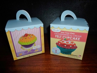 My Studio Girl Sew-Your-Own Felt Cupckes