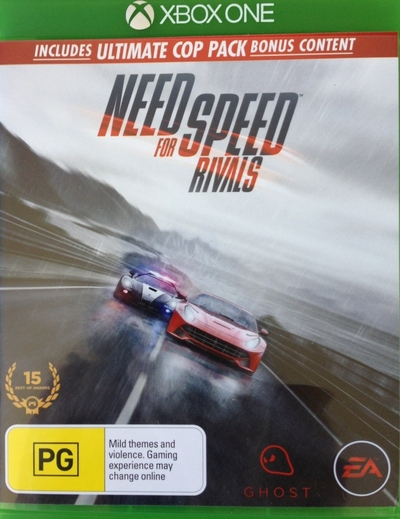 Need for Speed Rivals, Video Game, XBox, Playstation