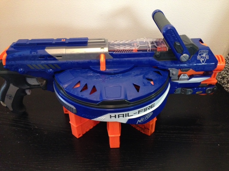 Nerf hail fire, Nerf gun