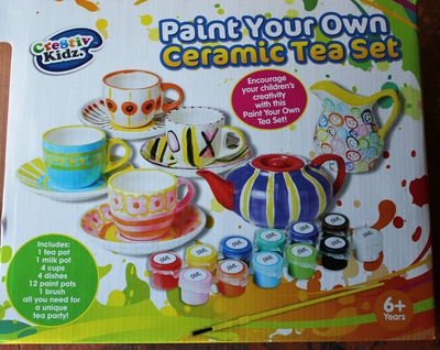 Paint your own teaset review