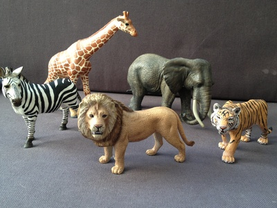 Schleich, toy, animal, safari
