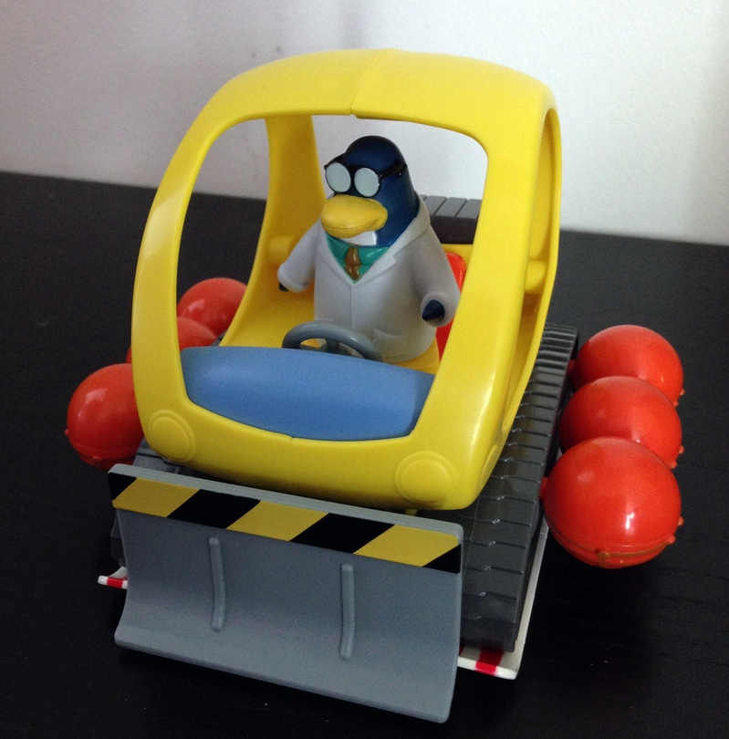 Snow Cat, Snow Trekker, Club Penguin, toy
