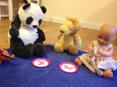 Teddy bear picnic, indoor play