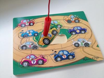 Car, game, Melissa & Doug