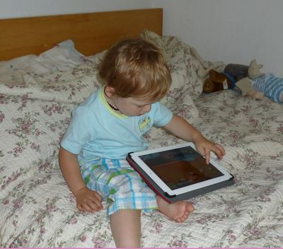 child ipad tablet screentime computer