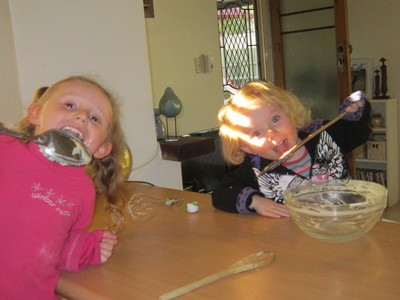Children Having Fun Cooking