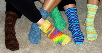 Coloured Socks