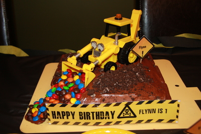 Birthday Cake For Contractor