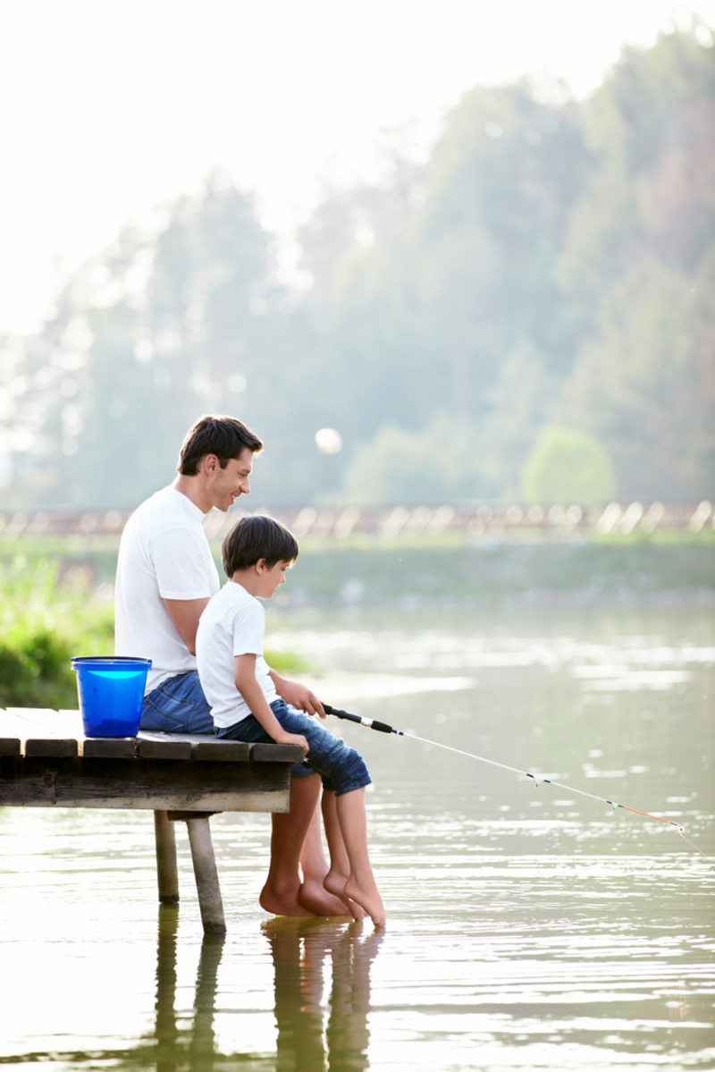 Father and son quality relationship how to build a life for Father son fishing