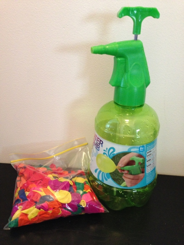 water bomb kit, water bomb, summer fun