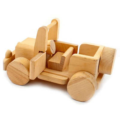 Kids Wooden Car