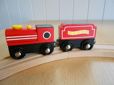 Wooden Trainset